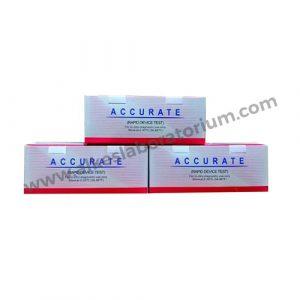 Jual Rapid Test HCV AB (Cassete) Accurate - Alkeslaboratorium